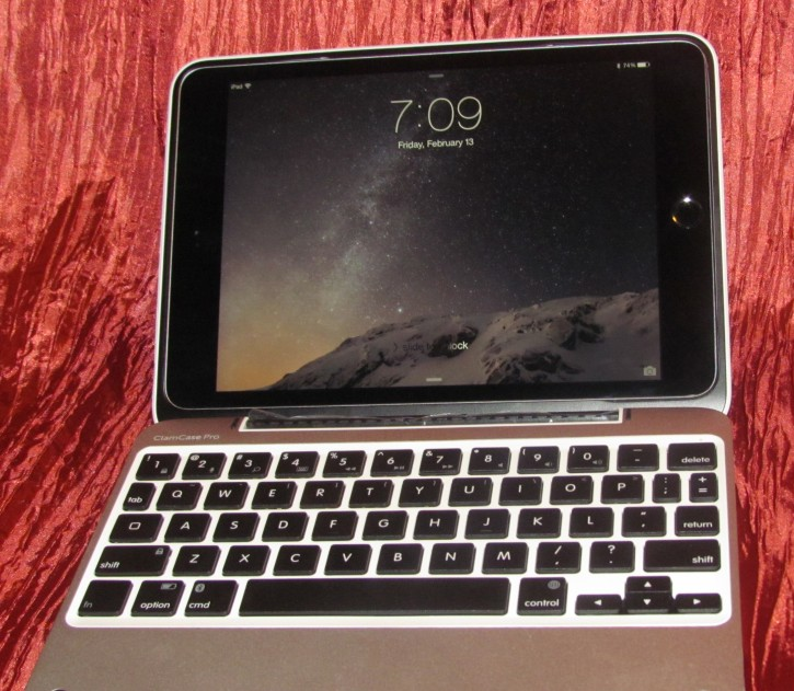 Clam Case with Keyboard for iPad Mini