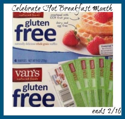 Vans foods gluten free