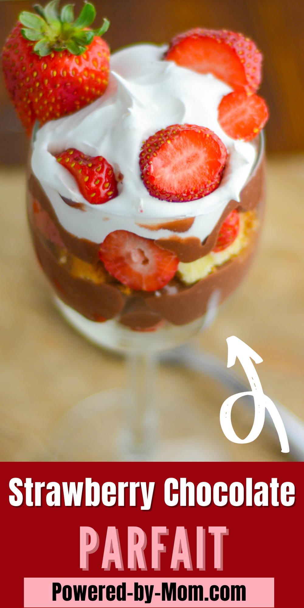 Enjoy this easy peasy dessert that looks like you slaved for hours over it. This Strawberry chocolate parfait dessert is delicious and great for any occasion.