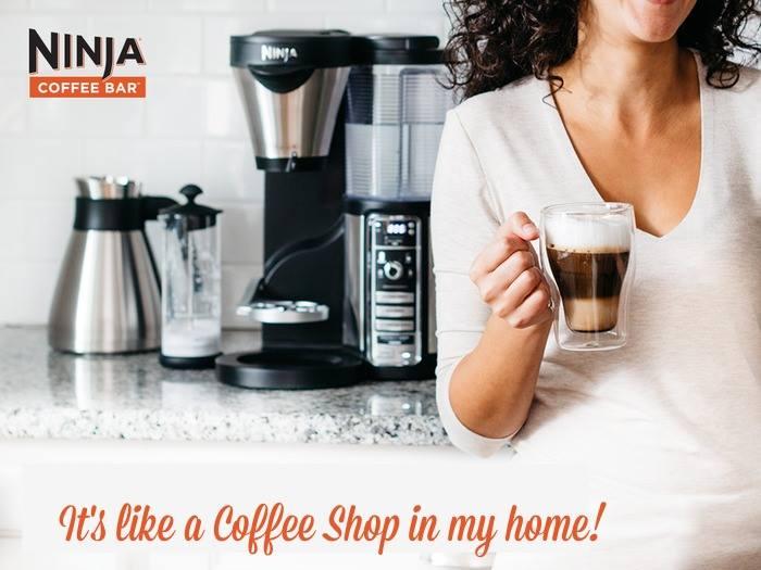 ninja coffee bar display