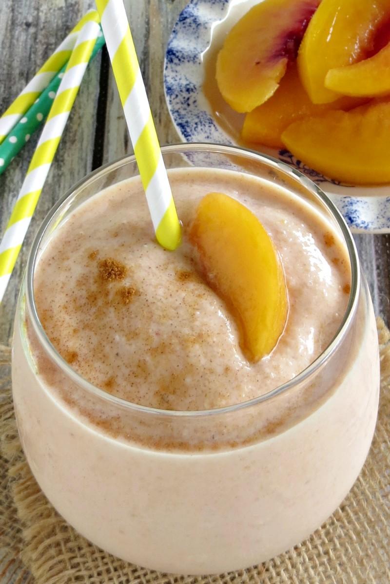 peaches and cream smoothie (7)