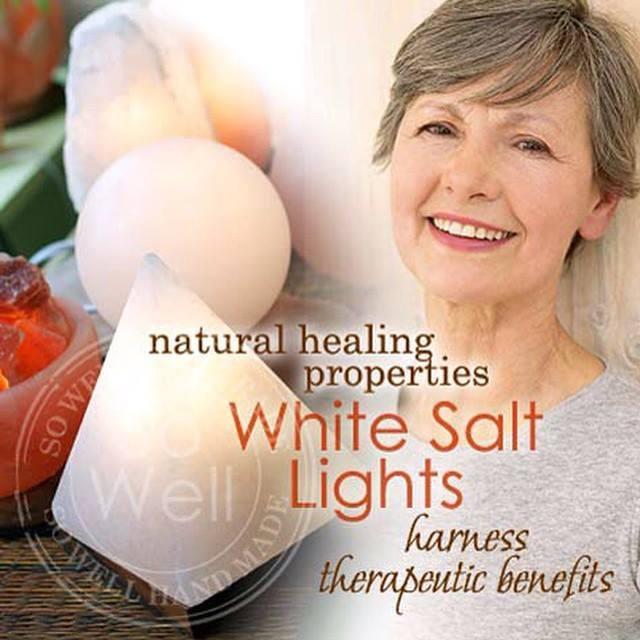 white salt lights