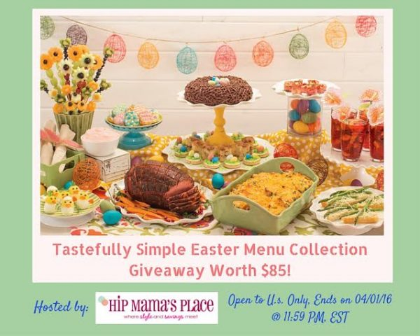 tastefully simple easter collection