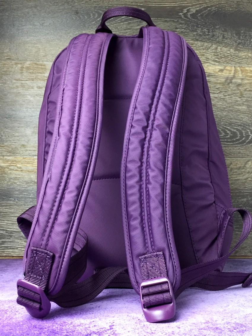 Beside U backpack back view
