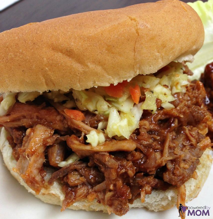 Tony Roma's Pulled Pork Sandwich