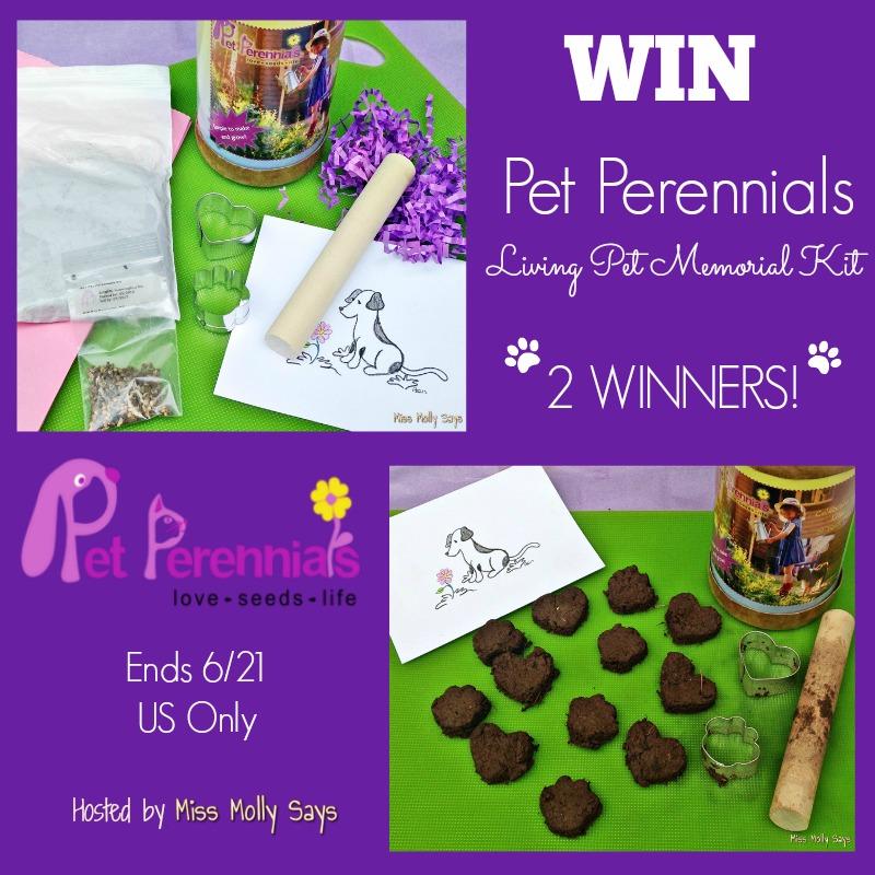 Pet Perennials giveaway button