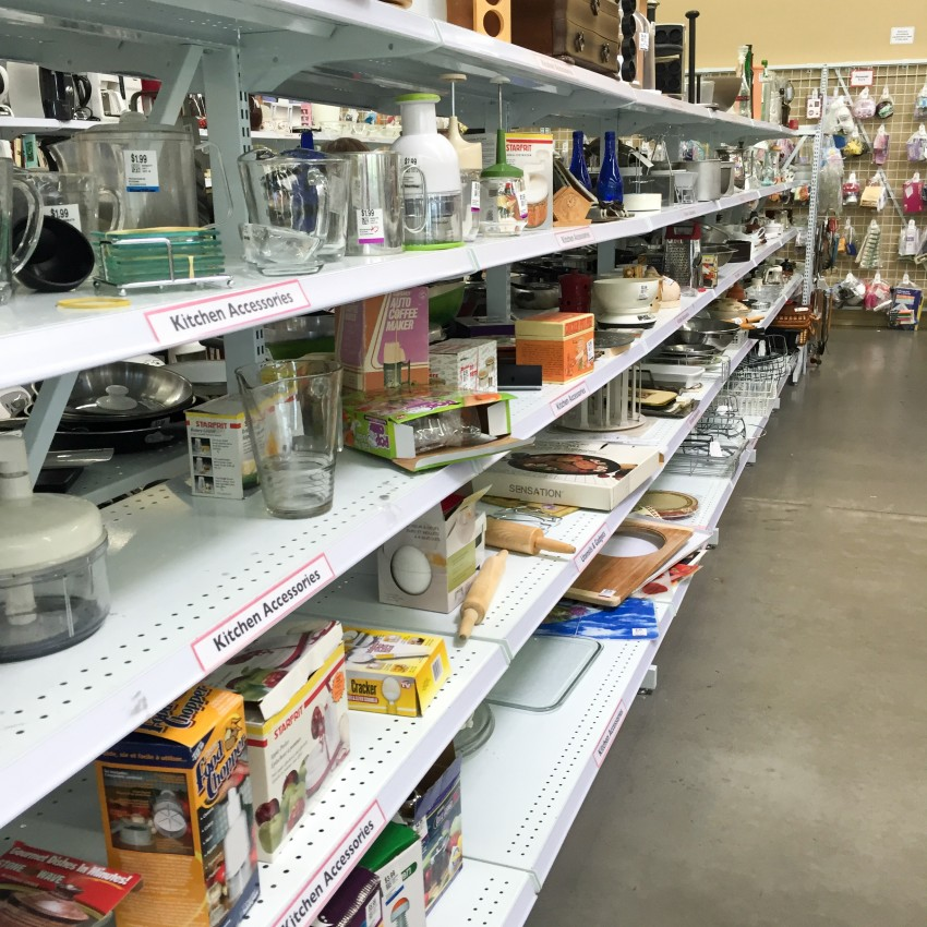 This is one of the aisles I found treasures for my photography hobby