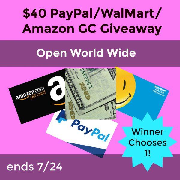 $40 amazon-Walmart-paypal