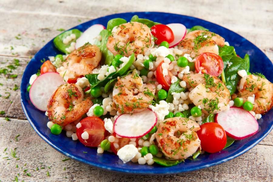lemon shrimp couscous
