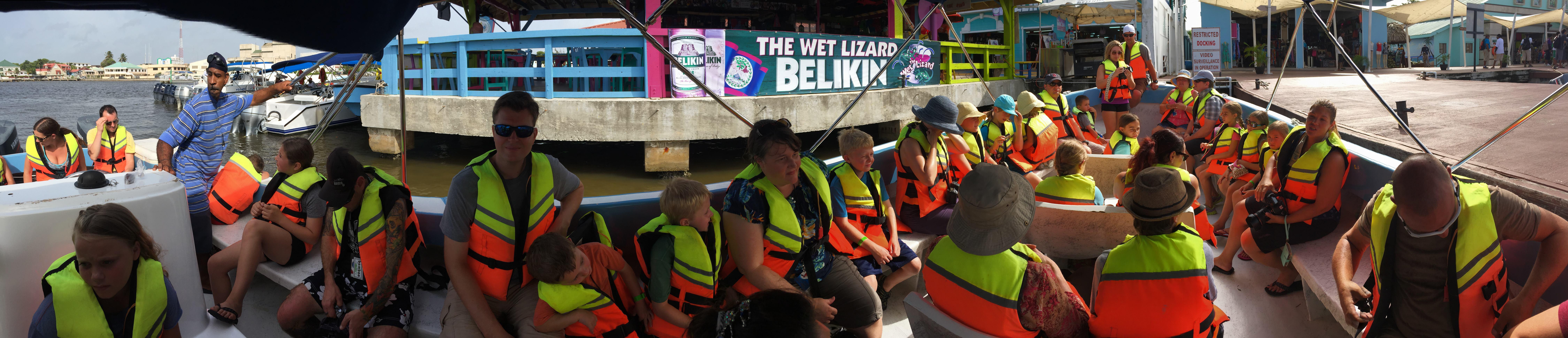 Belize boat tour