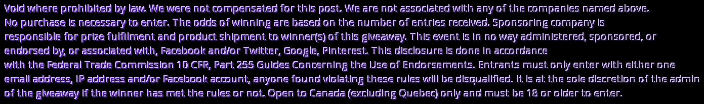 disclaimer Canada