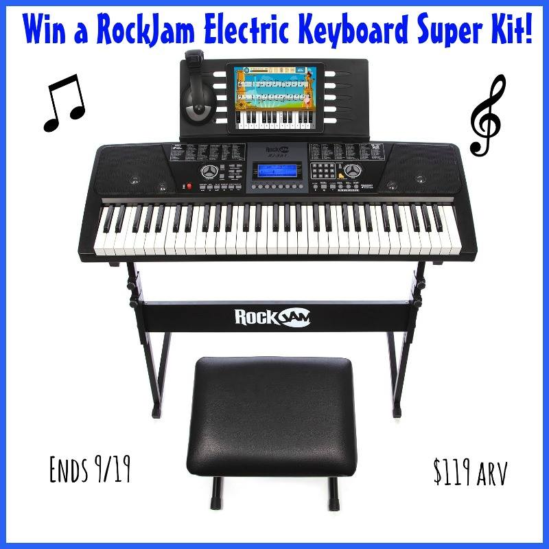Rockjam Electric Keyboard Superkit Giveaway Powered By Mom