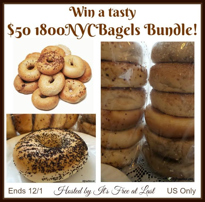 $50 1800NYCBagels Bundle Giveaway!