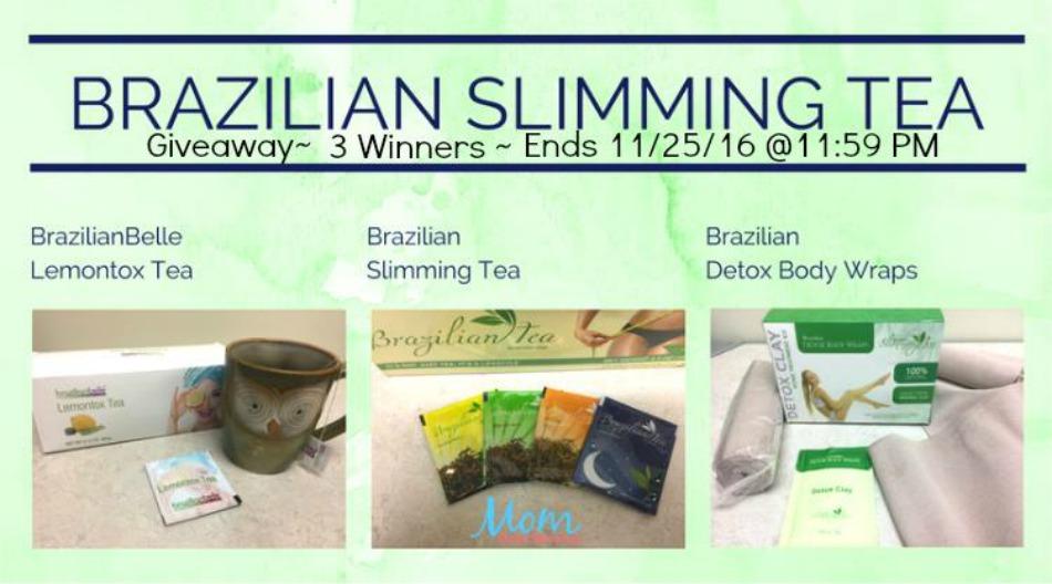 Brazilian Slimming Tea Giveaway