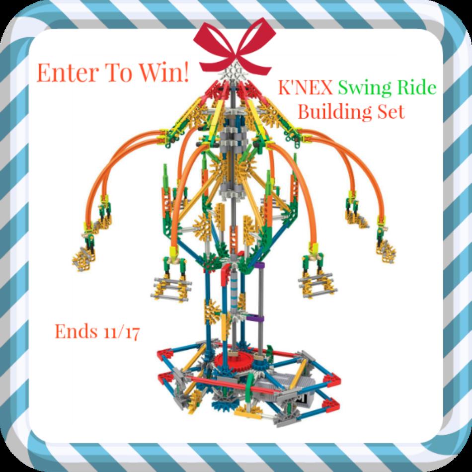 K'Nex Explorations Swing Ride Building Set Giveaway!