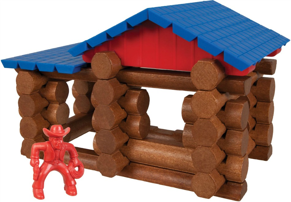 Lincoln Logs Forge Mill Cabin Set