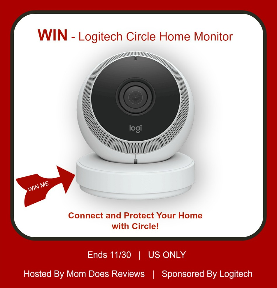 Logitech Circle Home Monitor Giveaway button