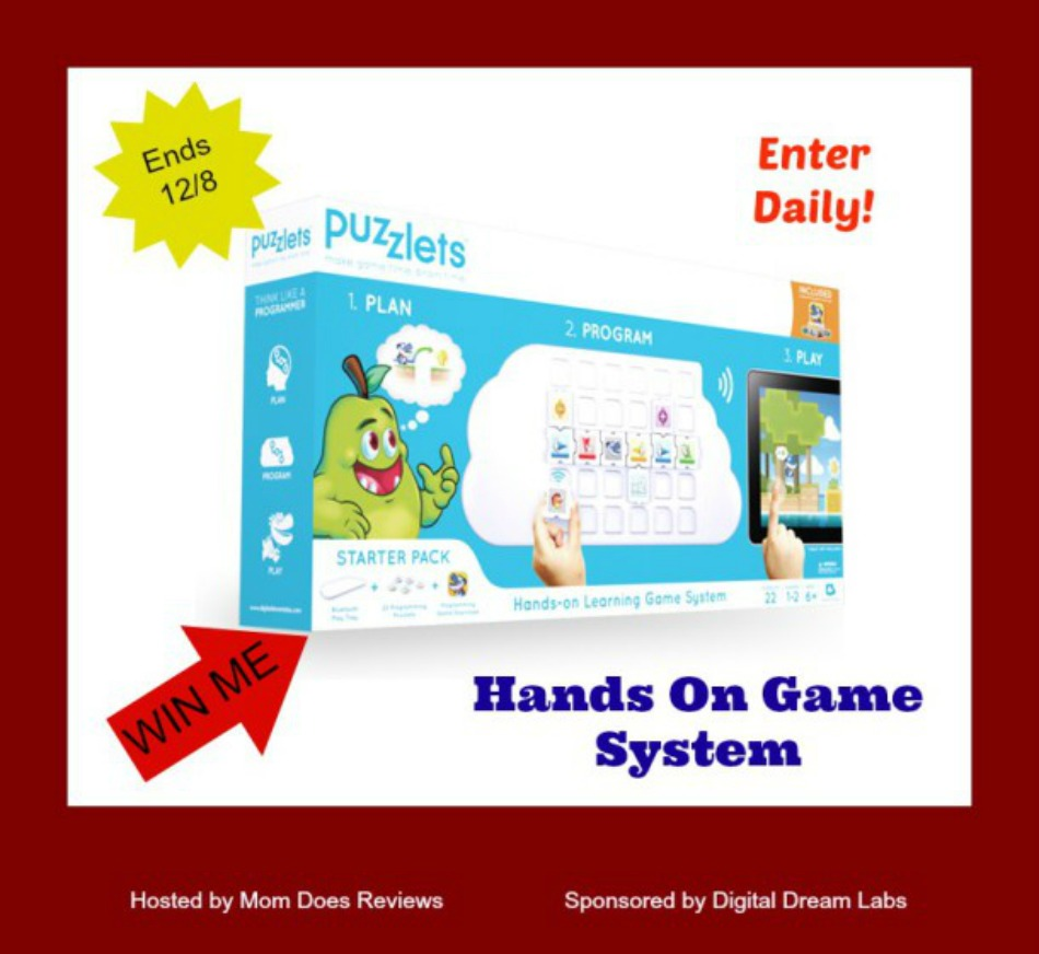 Puzzlets Hands On Game System Giveaway