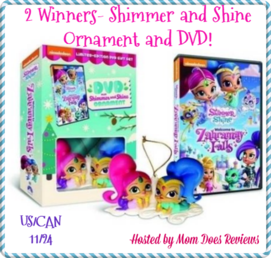 Shimmer and Shine Ornament Gift Sets Giveaway!