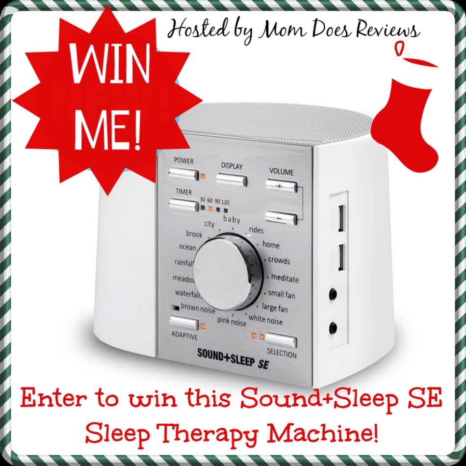 Sound+Sleep SE Sleep Therapy Machine giveaway