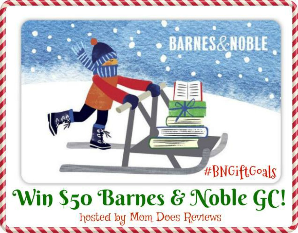 $50 Barnes & Noble Gift Card Giveaway