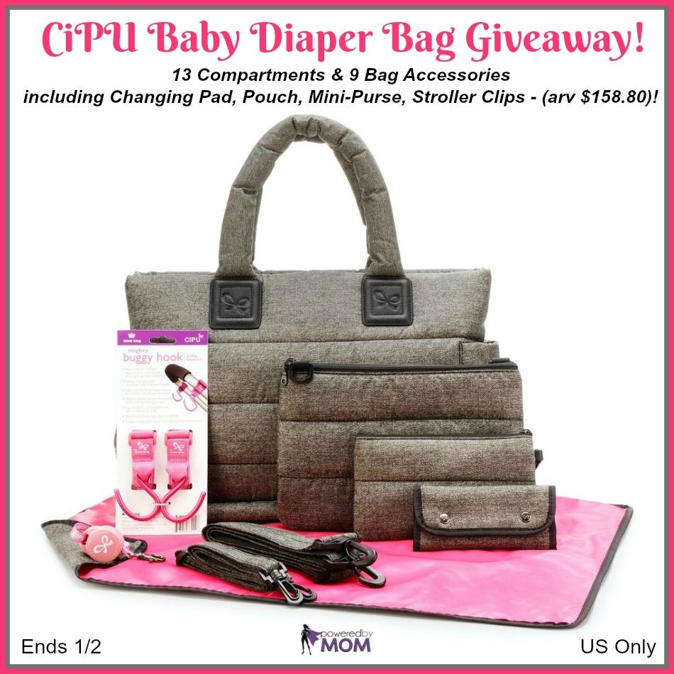 CiPU Baby Diaper Bag Giveaway!