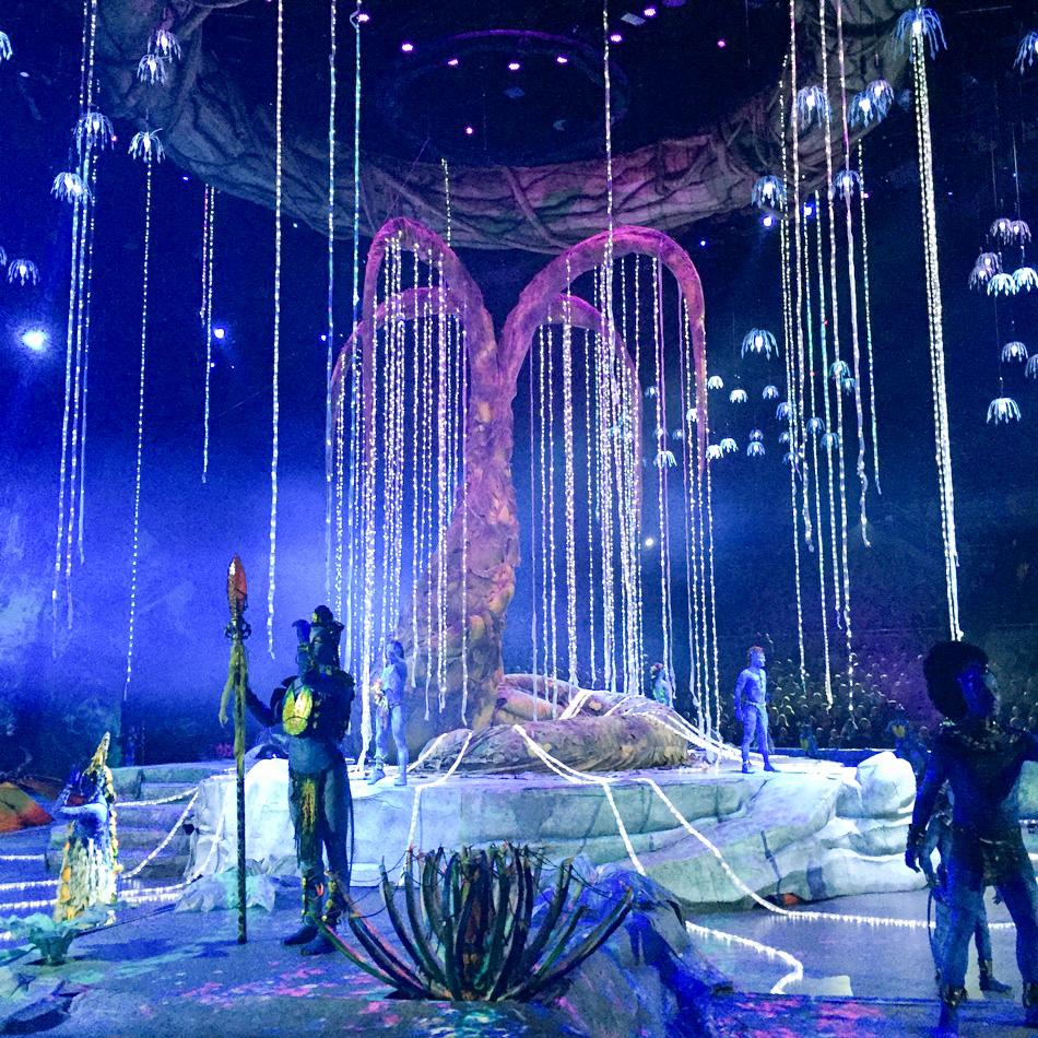 Cirque du Soleil Toruk First Flight Tree of Souls