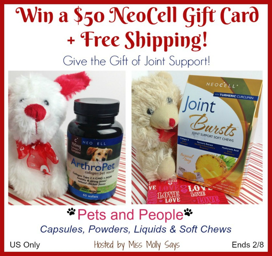 $50 NeoCell Gift Card Giveaway