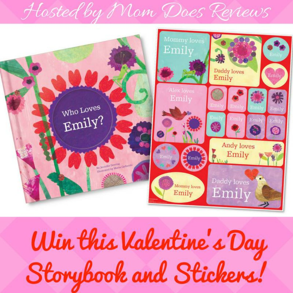 Personalized Valentine's Day Gift Set from I See Me Giveaway button