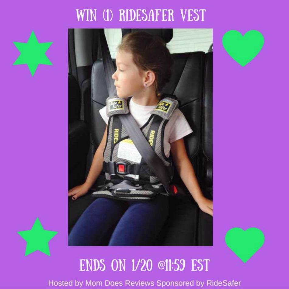 RideSafer Vest Giveaway