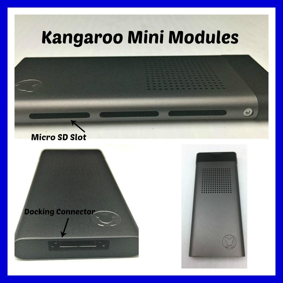 kangaroo mini module collage