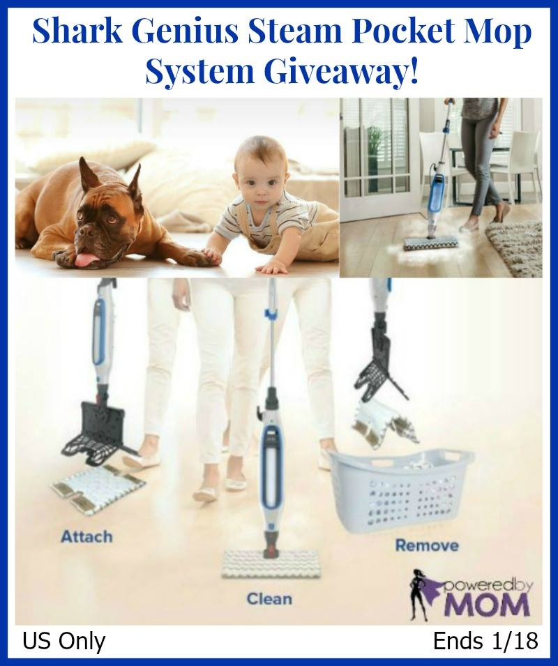 Shark Genius Steam Mop System Giveaway Powered By Mom