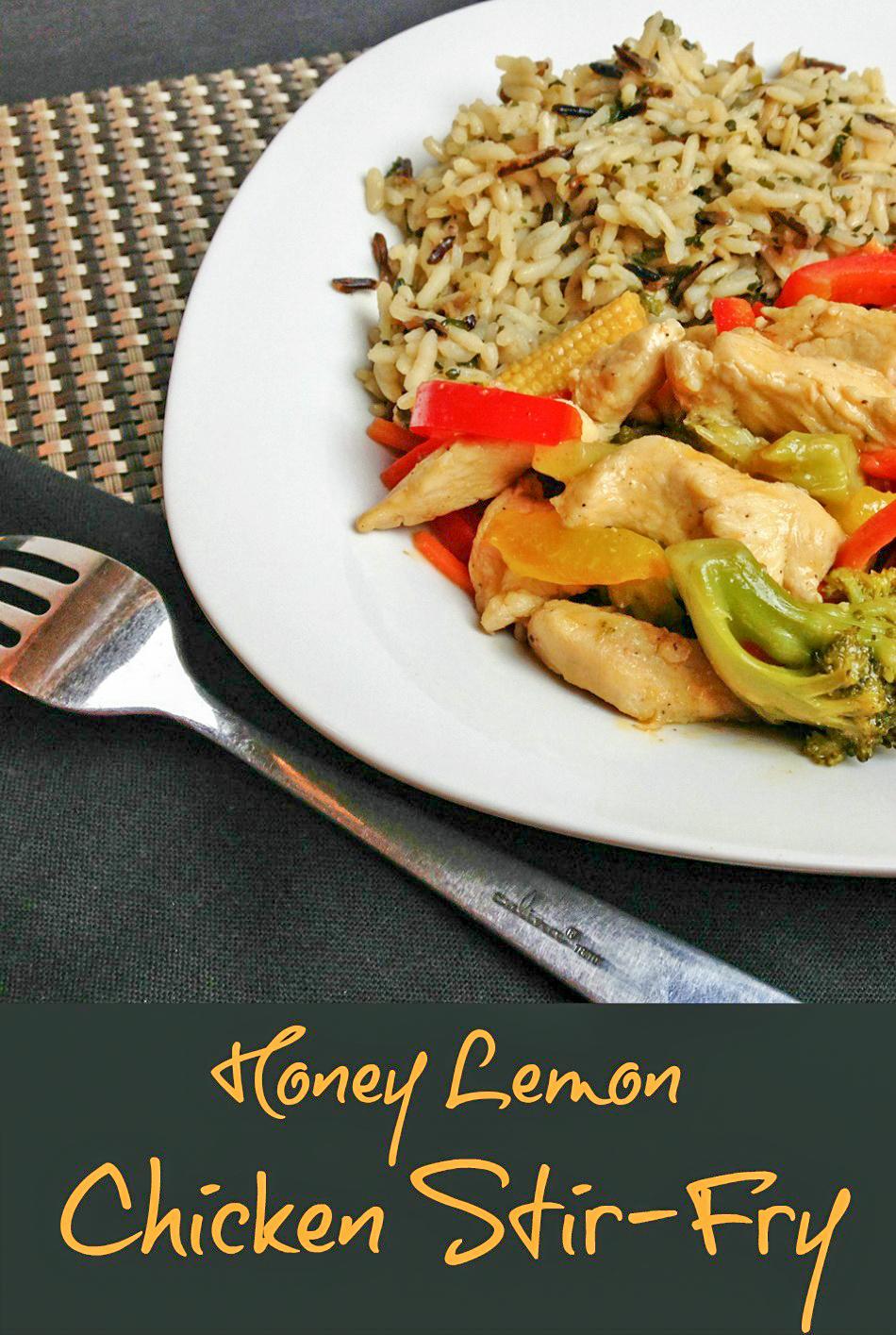 Honey Lemon Chicken Stir-Fry banner 3