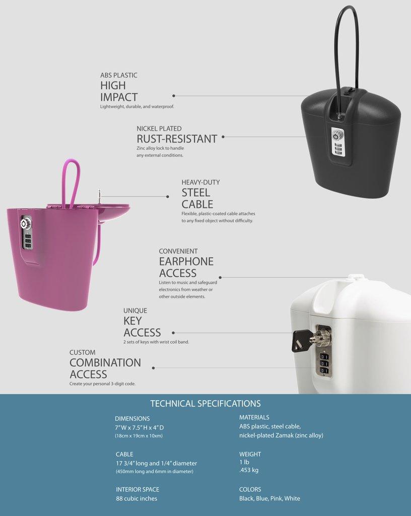 Safego Portable Safe