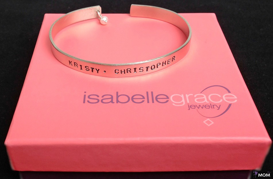 Isabelle Grace - Thin Message Cuff
