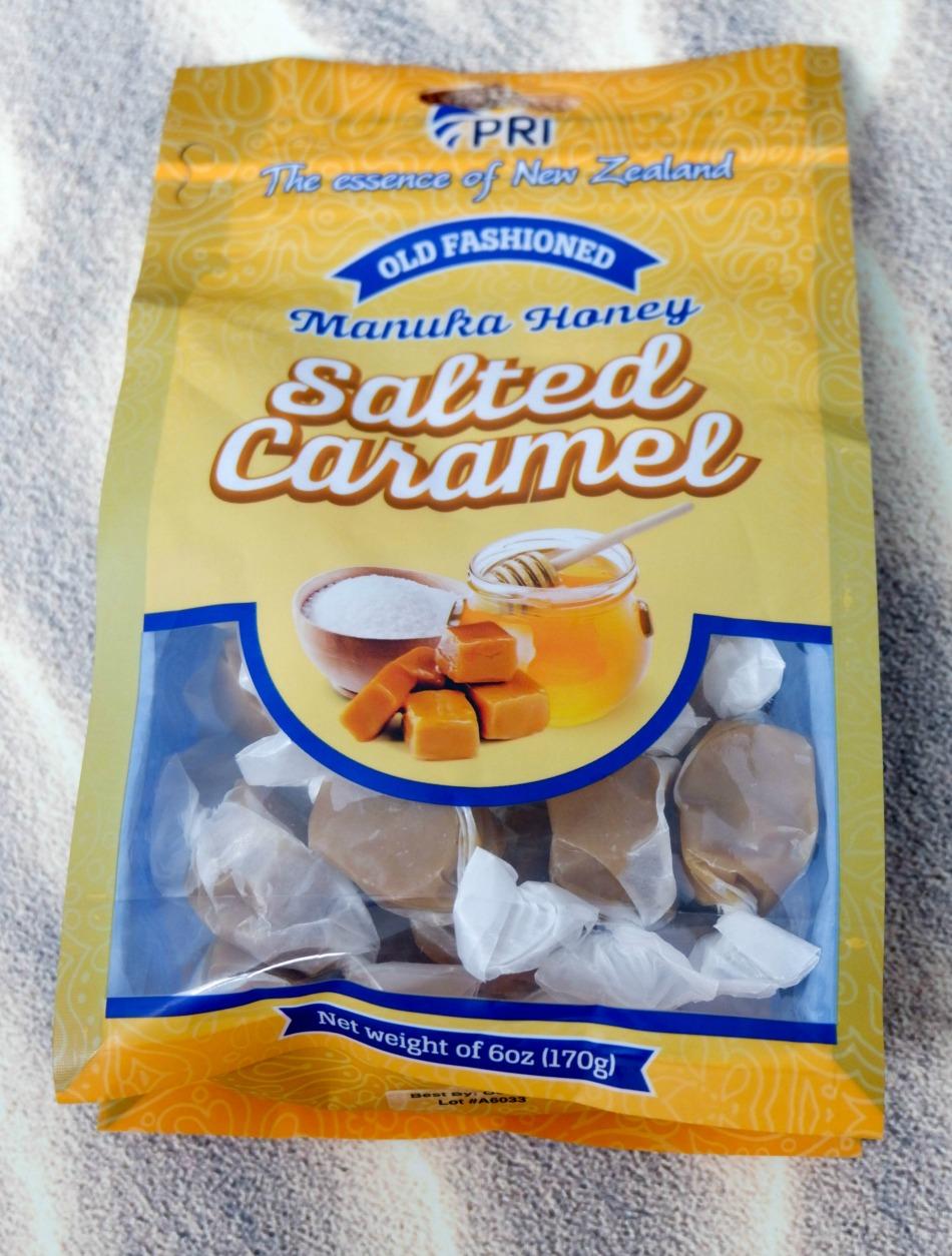 Manuka honey caramels