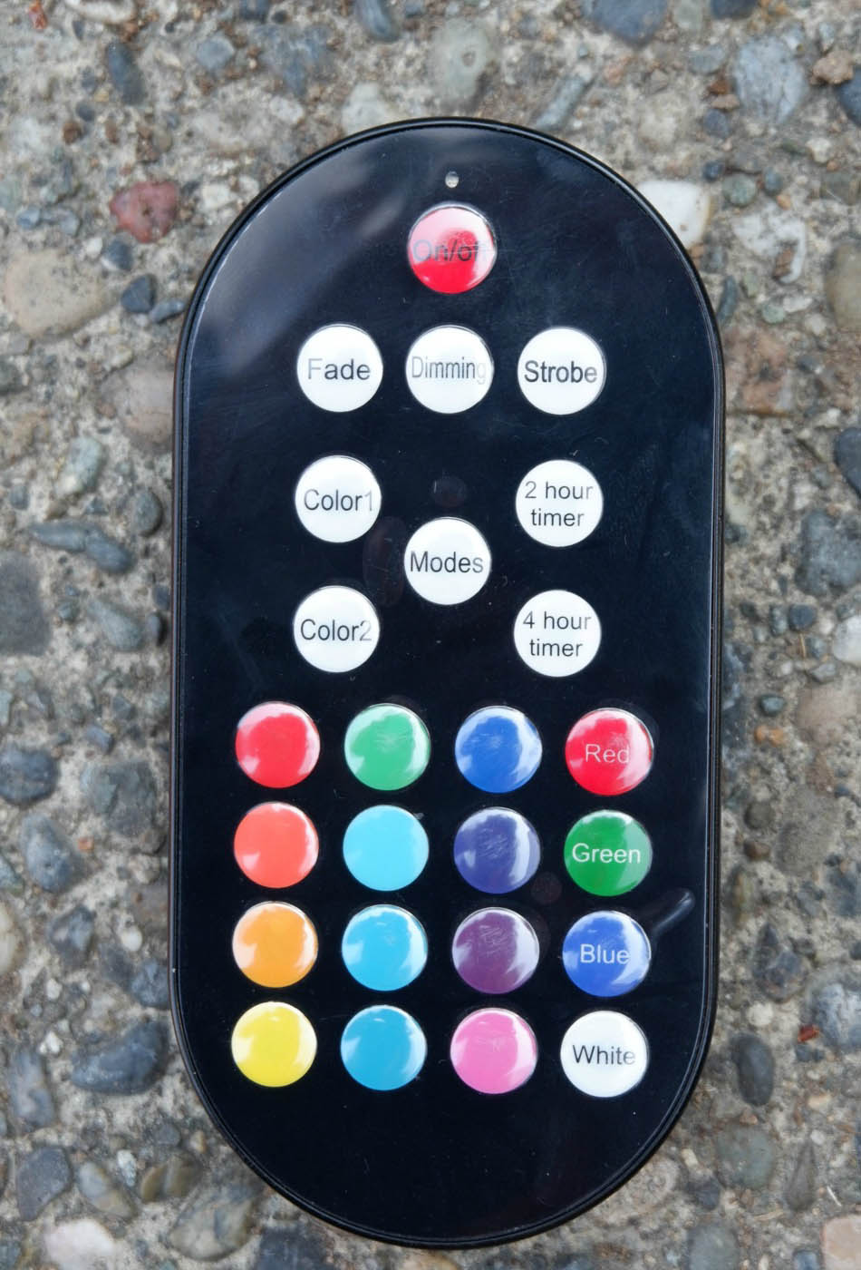color changing lights remote