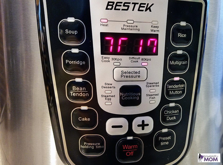 BESTEK Pressure Cooker