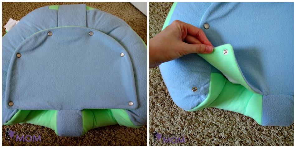 Hugaboo Baby Seat Demo