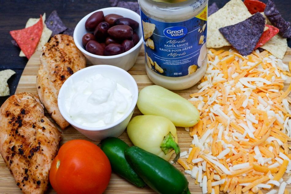 Chicken Nachos Ingredients