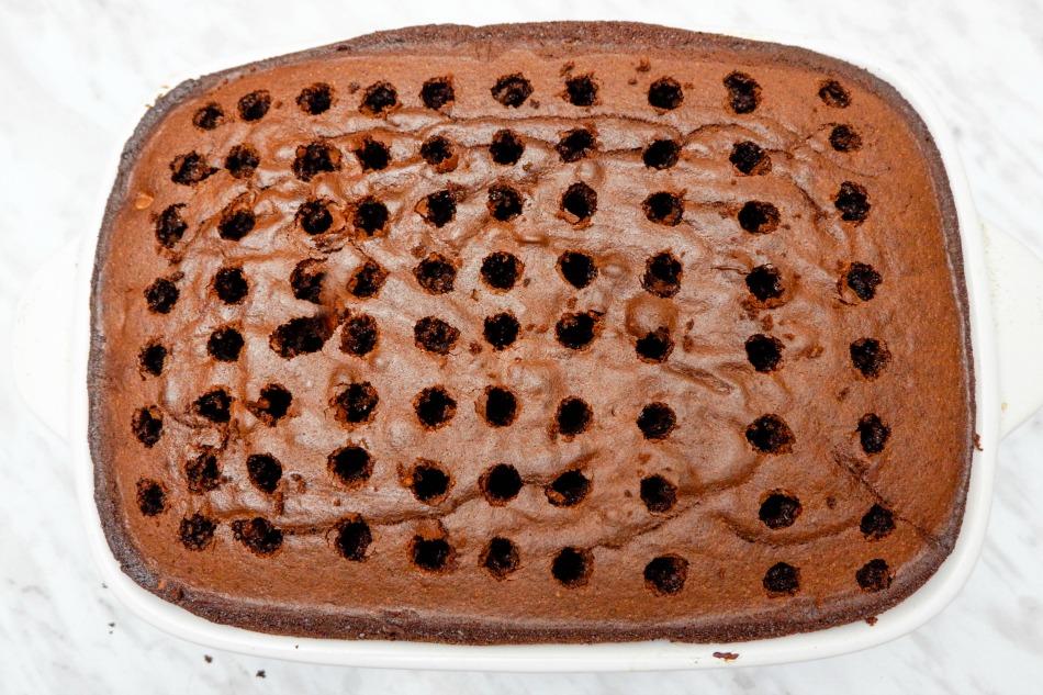 Chocolate Poke Cake