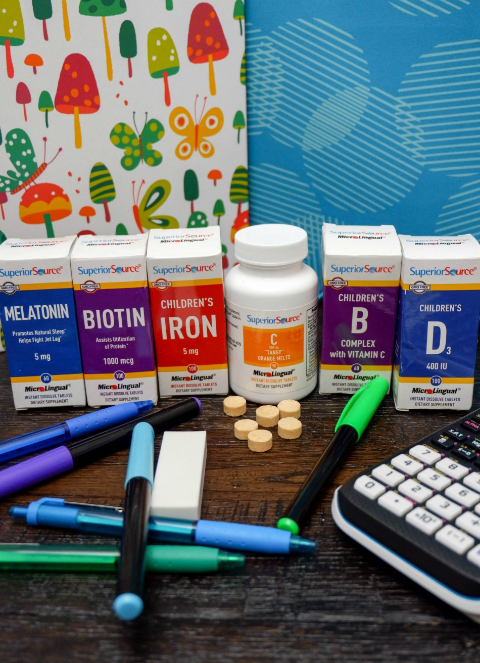 Superior Source Vitamins - Back to School
