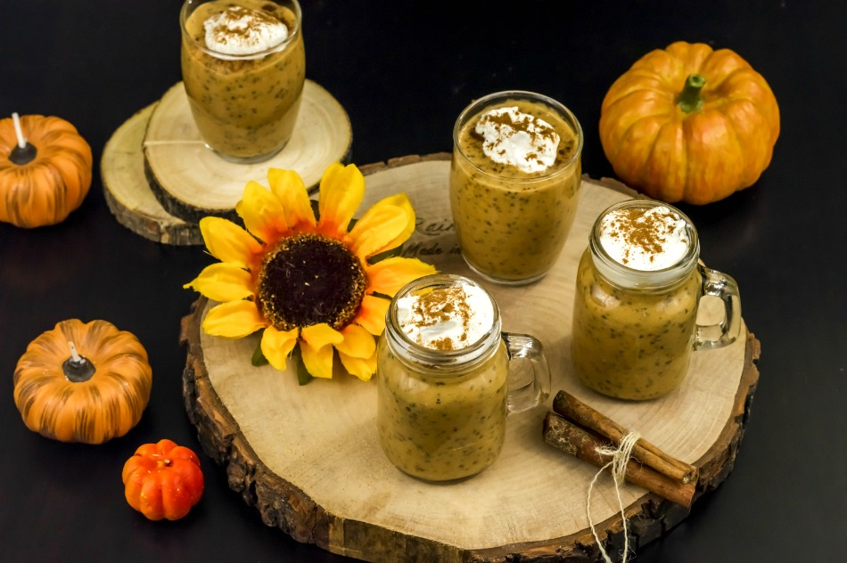 Paleo Pumpkin Spice Chia Pudding