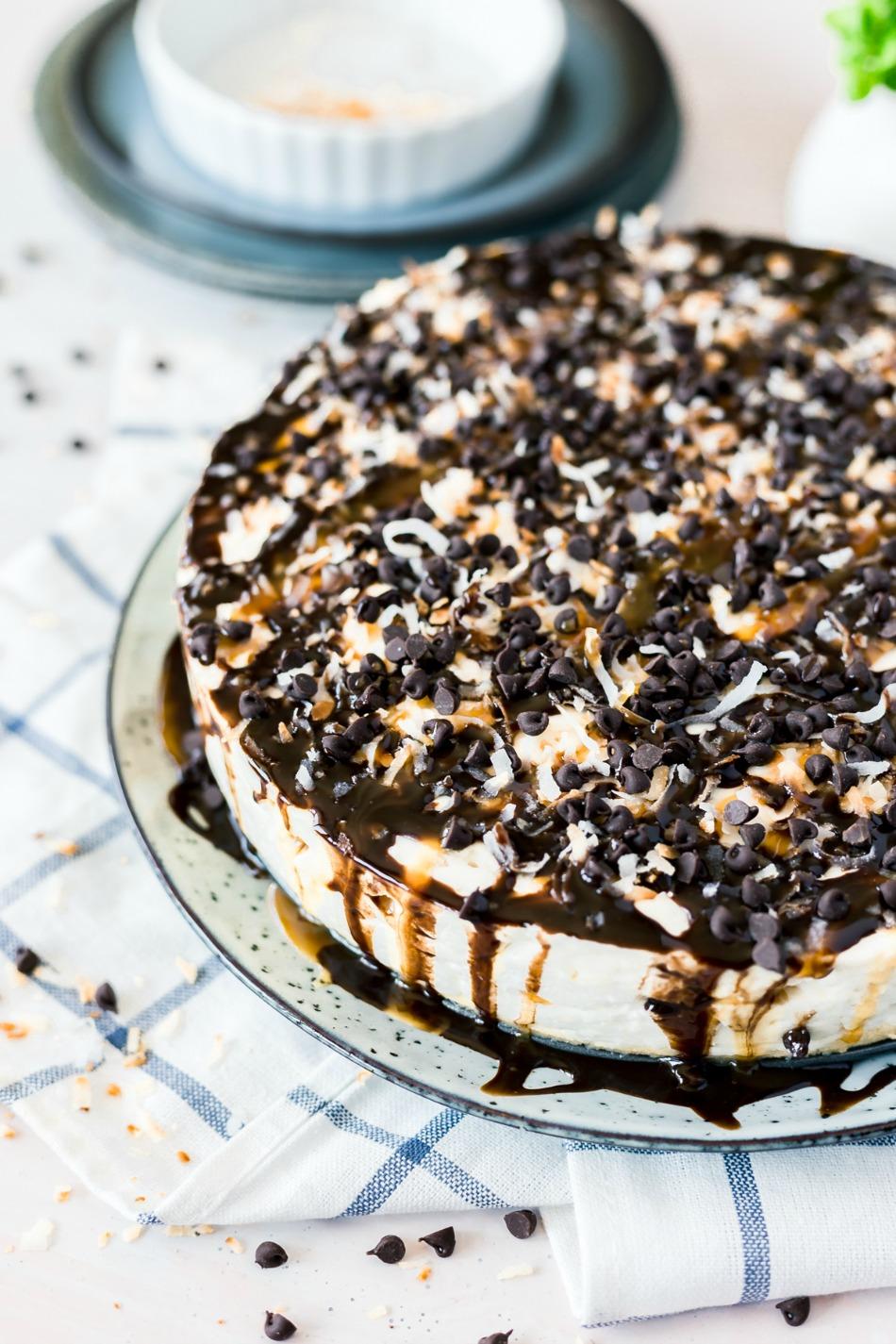 No Bake Samoa Cheesecake Recipe