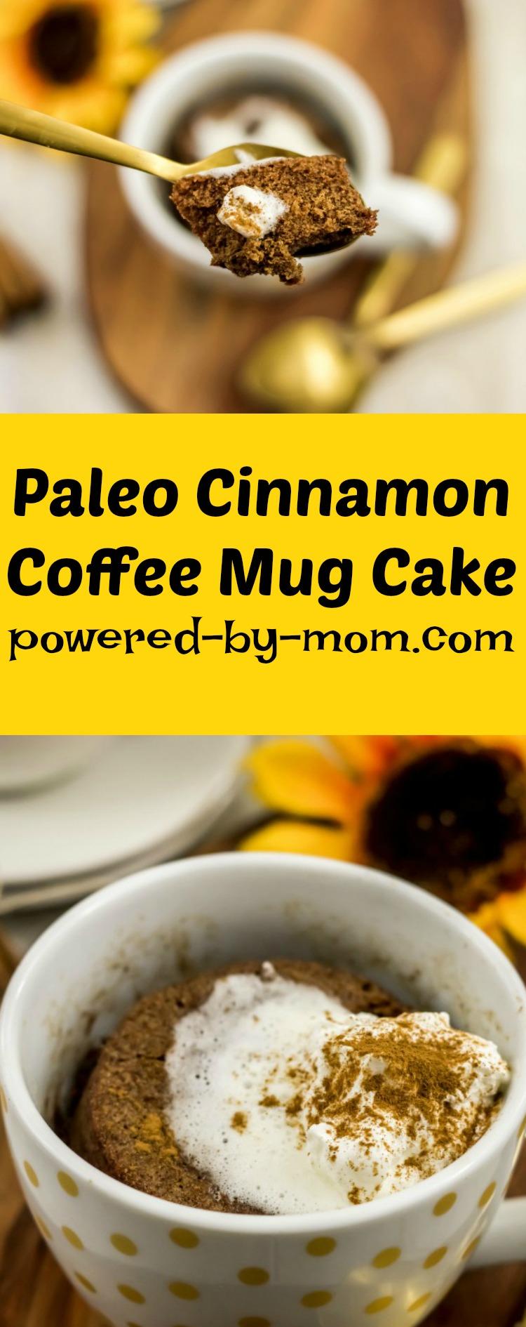 Paleo Cinnamon Coffee Mug Cake
