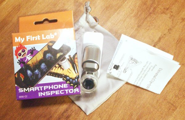 My First Lab Microscope smartphone inspector