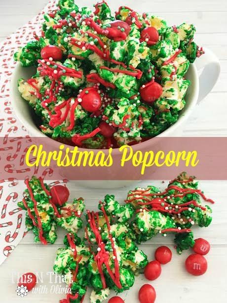 Homemade Christmas Popcorn