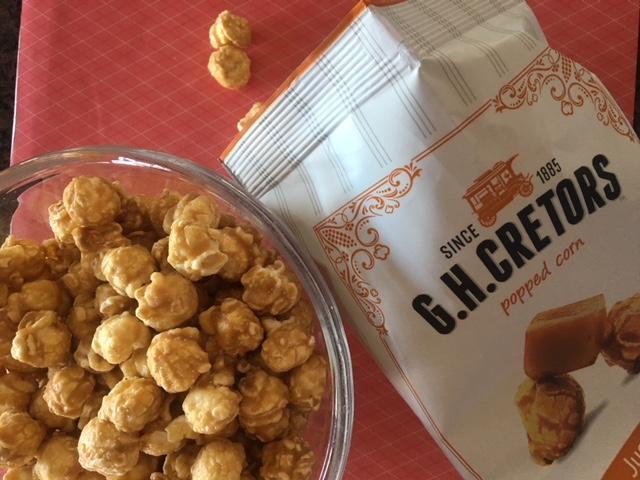 G.H Cretors Brings you The Mix, Organic and Caramel Popcorn