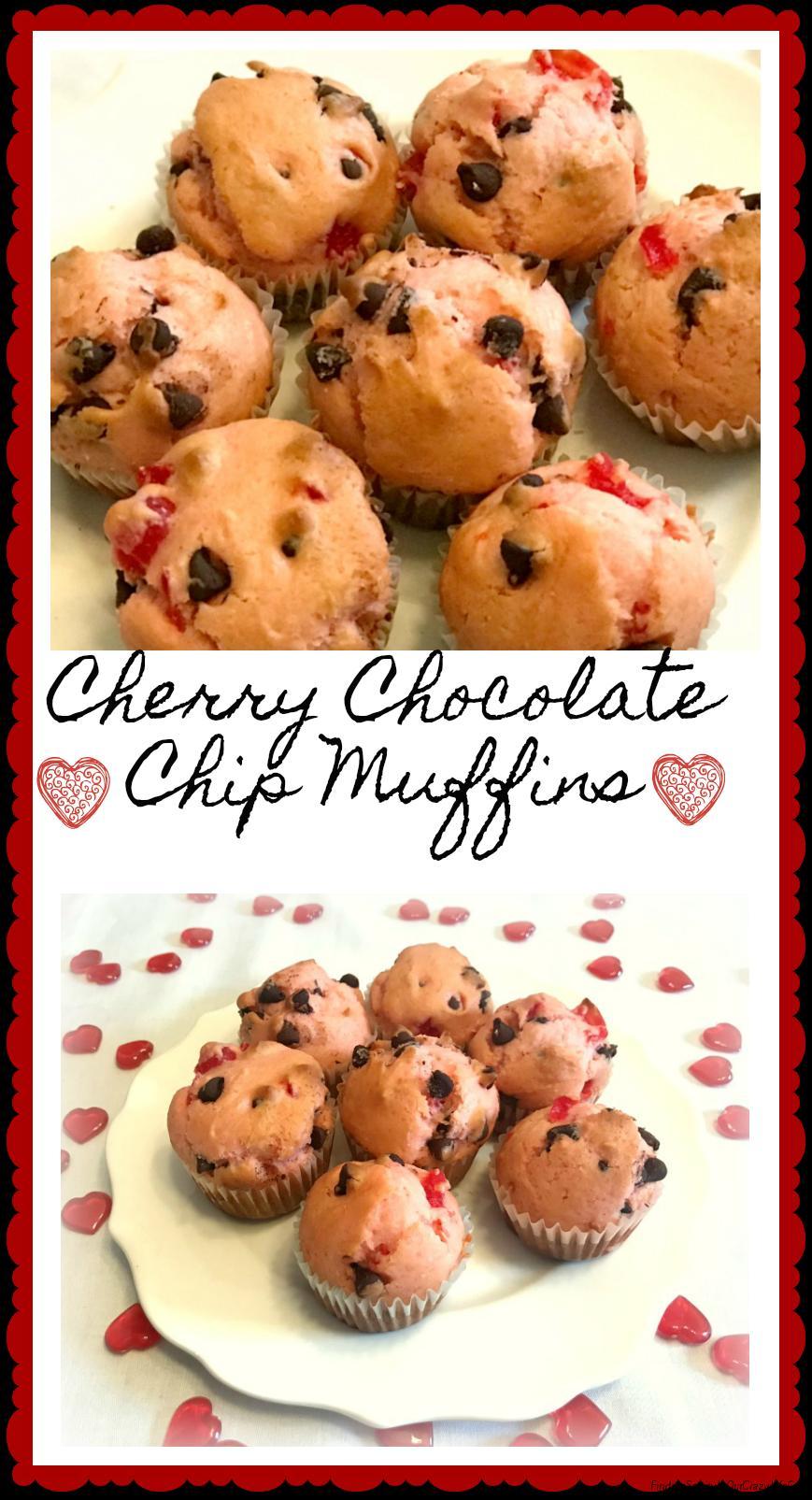 cherry chocolate chip muffins