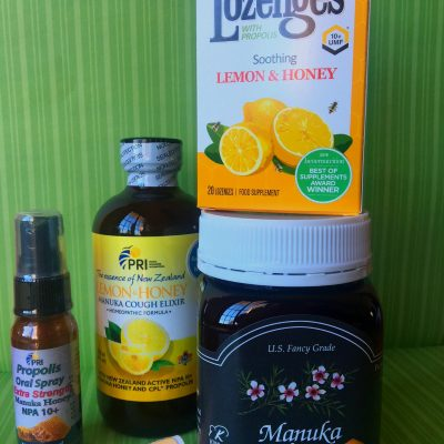Prepare to Stay Well this Season with PRI Honey and Lemon Products